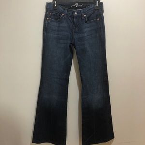 7 For All Mankind Dojo Size 26 Flare Leg Jeans